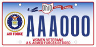 Women Air Force Retired