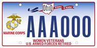 Women Marine Corps Retired